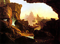 The Subsiding of the Waters of the Deluge, 1829, cole