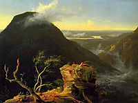 Sunny Morning on the Hudson River, 1827, cole