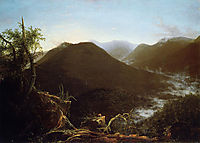Sunrise in the Catskill Mountains, 1826, cole