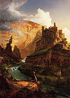 Valley of the Vaucluse, 1841, cole