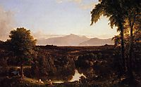 View on the Catskill, Early Autunm, 1837, cole
