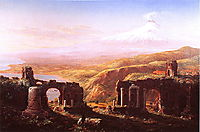 View of Florence from San Miniato, 1837, cole
