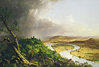 View from Mount Holyoke, 1836, cole