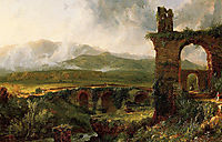 A View near Tivoli (Morning), 1832, cole