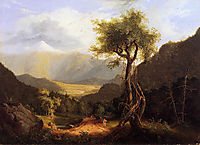 View in the White Mountains, 1827, cole