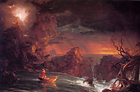 The Voyage of Life: Manhood, 1840, cole