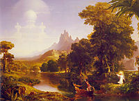 The Voyage of Life Youth, 1842, cole