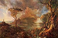 A Wild Scene, 1831-1832, cole