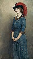 Angela McInnes, 1914, collier