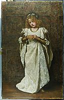 The Child Bride, 1883, collier