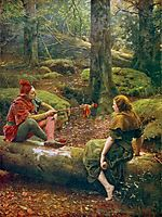 In the Forest of Arden, 1892, collier
