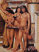 Pharaoh-s Handmaidens, 1883, collier