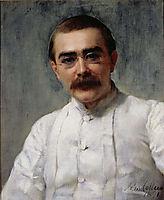 Rudyard Kipling, 1891, collier
