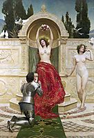Tannhäuser in the Venusberg, 1901, collier