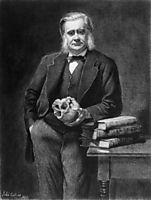 Thomas Henry Huxley, 1885, collier