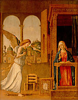 The Annunciation , 1495, conegliano
