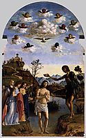 The Baptism of Christ, c.1493, conegliano