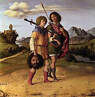 David and Jonathan, c.1507, conegliano