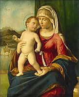 Madonna and Child , c.1497, conegliano