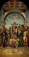 Madonna and Child with saints , c.1497, conegliano