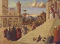 Presentation of the Virgin at the Temple , c.1500, conegliano