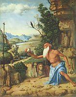 St. Jerome in a Landscape, conegliano