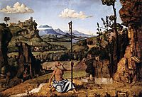 St. Jerome in the Wilderness, c.1495, conegliano