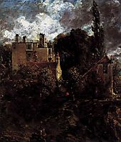 The Admiral-s House (The Grove), 1823, constable