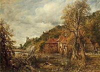 Arundel Mill and Castle, 1837, constable
