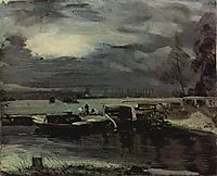 Boats on the Stour, 1811, constable