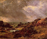 Branch Hill Pond Hampstead, 1819, constable