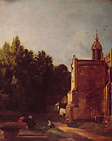 A Church Porch, 1810, constable