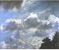 Cloud Study, 1821, constable