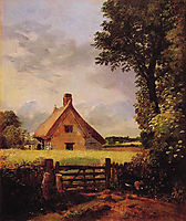 A Cottage in a Cornfield, 1817, constable