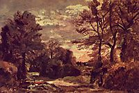 Country road, c.1826, constable