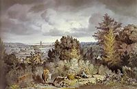 Dedham Church and Vale, 1800, constable