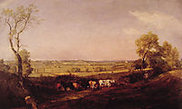 Dedham Vale: Morning, 1811, constable