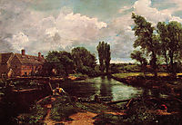 Flatford Mill from a Lock on the Stour, 1811, constable