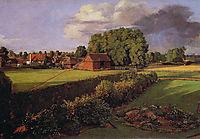 Golding Constable-s Flower Garden, 1815, constable
