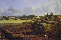Golding Constable-s Kitchen Garden, 1815, constable