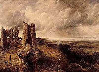 Hadleigh Castle, 1829, constable