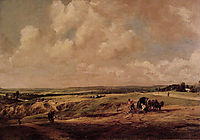 Hampstead Heath, c.1820, constable