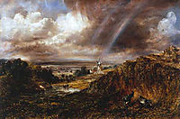 Hampstead Heath with a Rainbow, 1836, constable