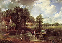 The Hay Wain, 1821, constable
