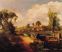 Landscape: Boys Fishing, 1813, constable