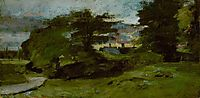 Landscape with Cottages, 1810, constable