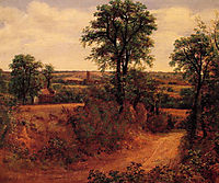 A Lane near Dedham, 1802, constable