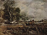 The Leaping Horse, c.1825, constable
