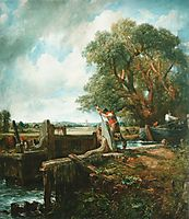 The Lock, 1824, constable