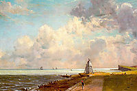 The Low Lighthouse and Beacon Hill, c.1820, constable